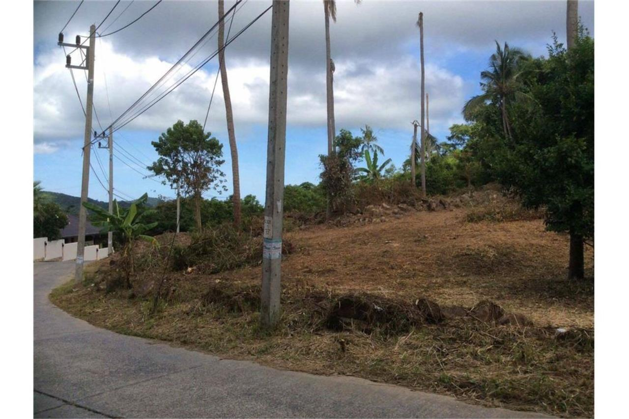 RE/MAX Island Real Estate Agency's Seaview Plot in an Exclusive Area, Bophut Hill 3