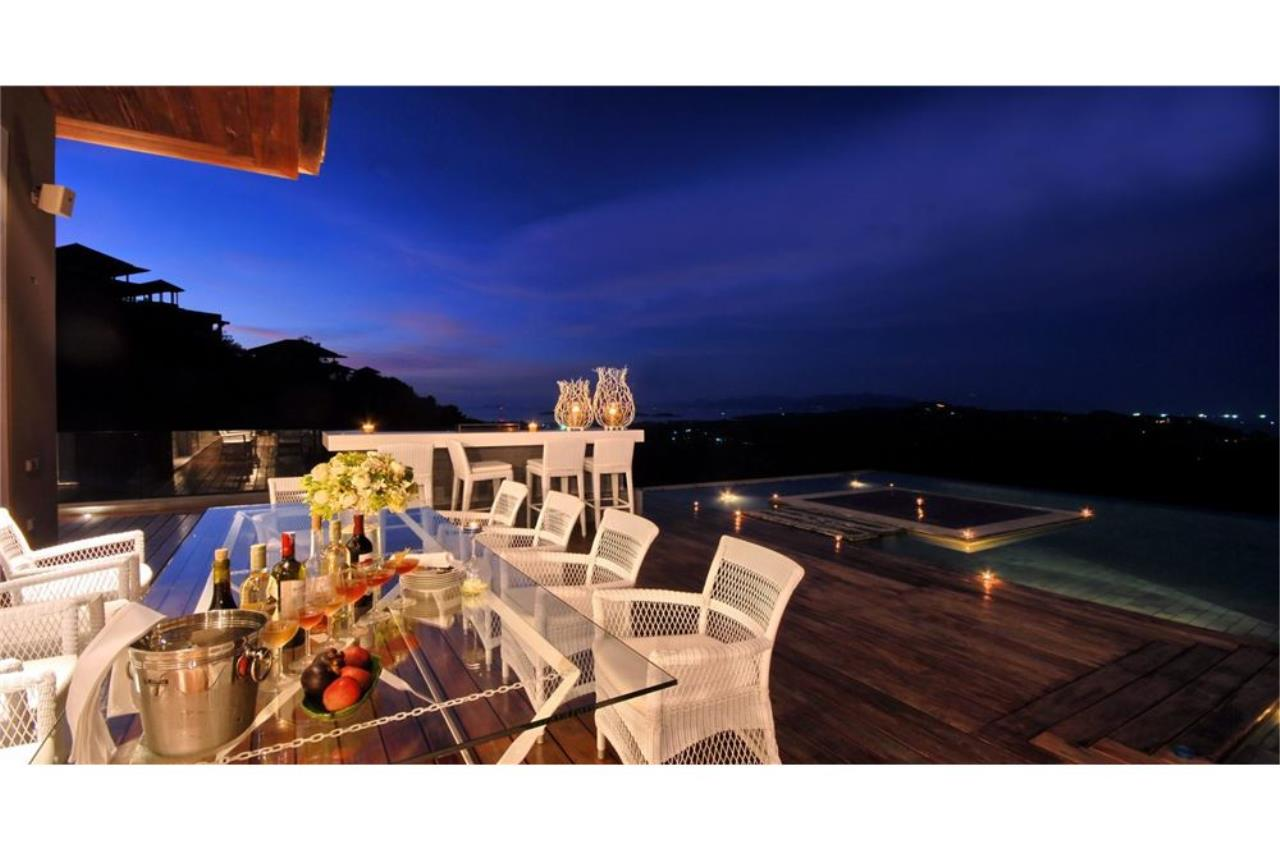 RE/MAX Island Real Estate Agency's 180 degrees  oceanview villa for sale in Plai Laem 30