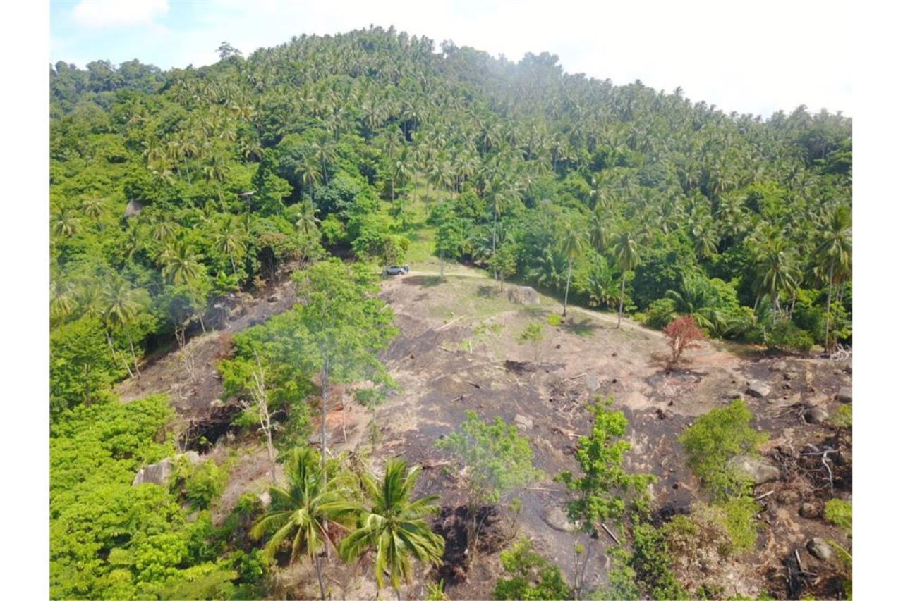 RE/MAX Island Real Estate Agency's 180 degrees sea view land for sale in Lamai 9