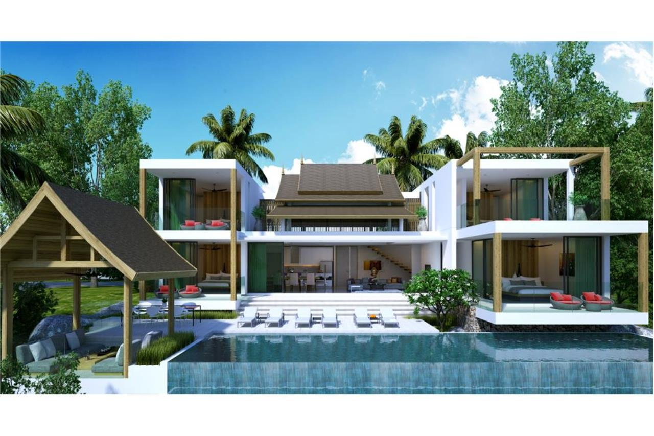 RE/MAX Island Real Estate Agency's 220° Panoramic seaview villa for sale in Lamai 2