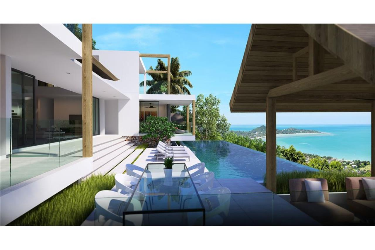 RE/MAX Island Real Estate Agency's 220° Panoramic seaview villa for sale in Lamai 10