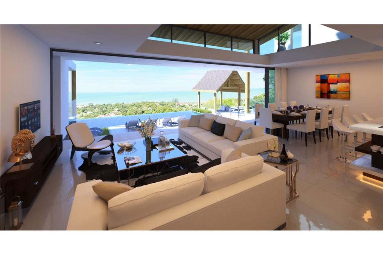 RE/MAX Island Real Estate Agency's 220° Panoramic seaview villa for sale in Lamai 8
