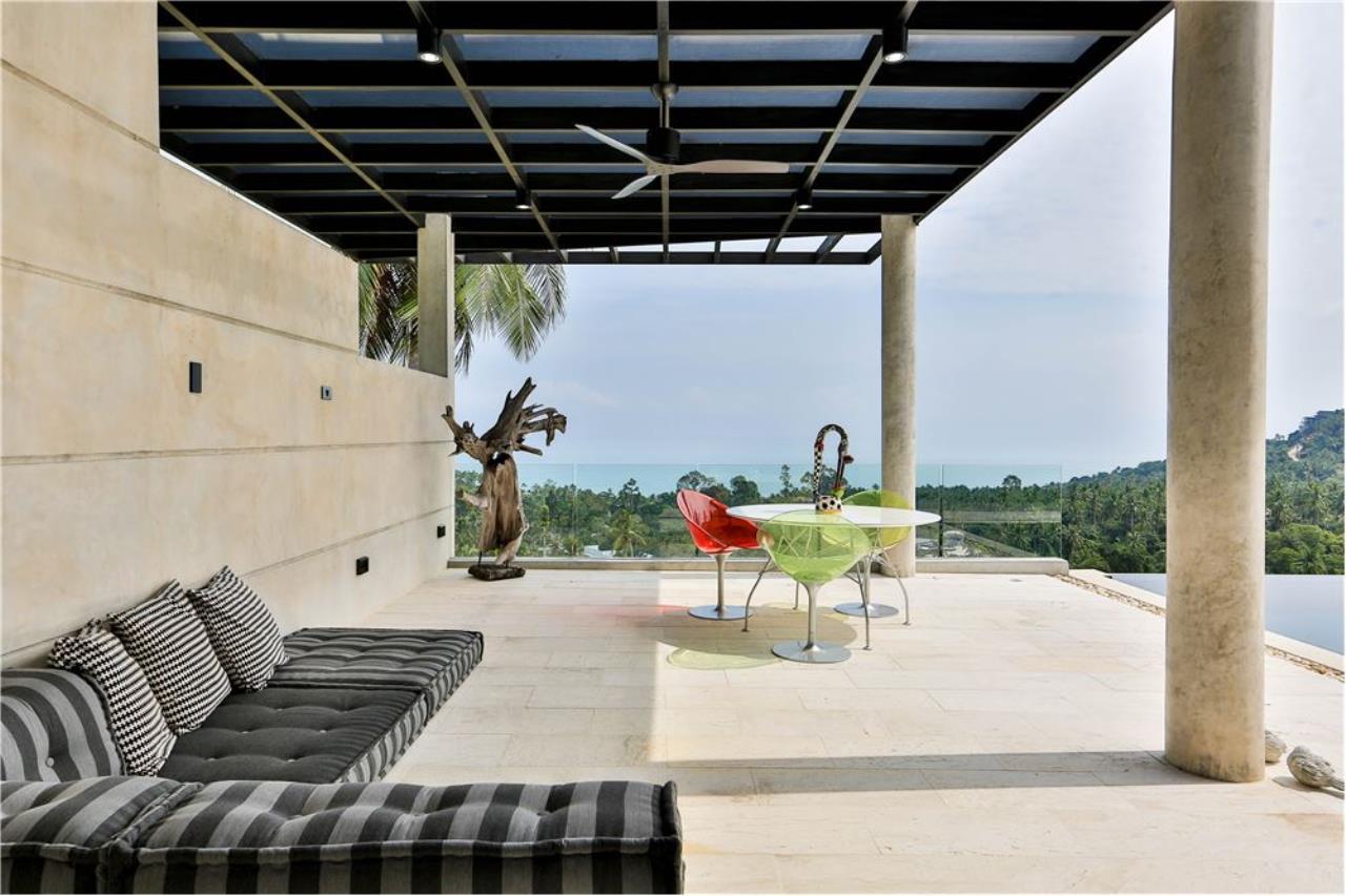 RE/MAX Island Real Estate Agency's 180° Sea view  villa for sale , Koh Samui 6