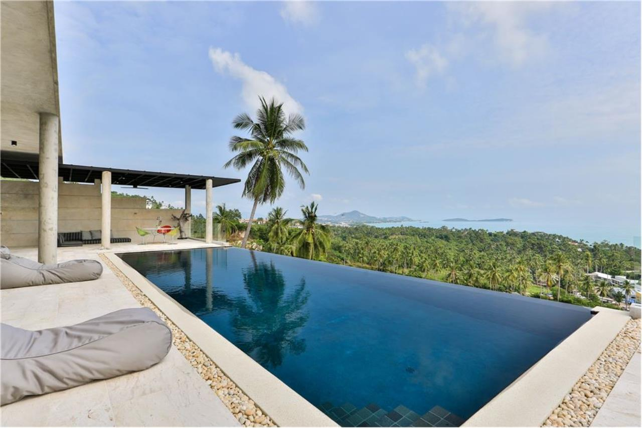 RE/MAX Island Real Estate Agency's 180° Sea view  villa for sale , Koh Samui 25