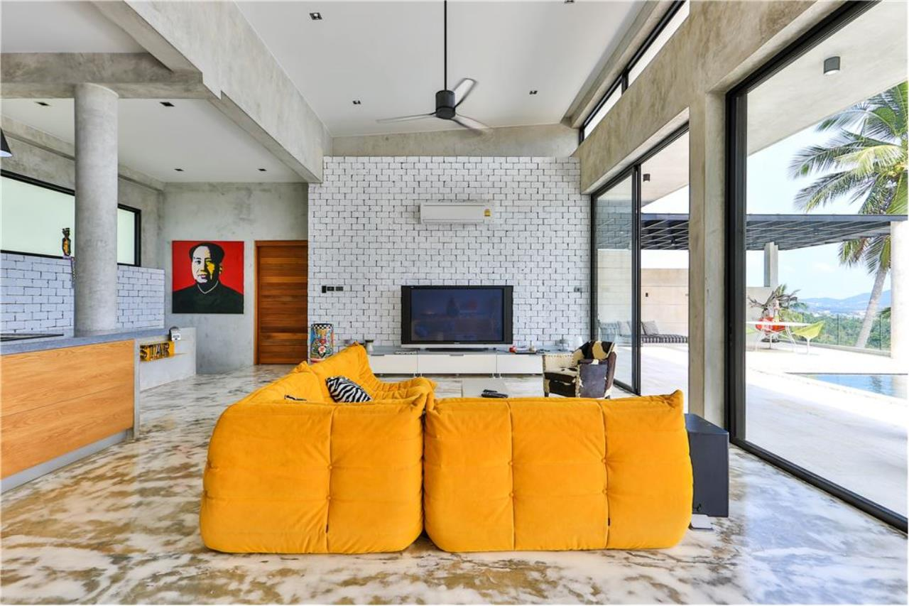 RE/MAX Island Real Estate Agency's 180° Sea view  villa for sale , Koh Samui 11