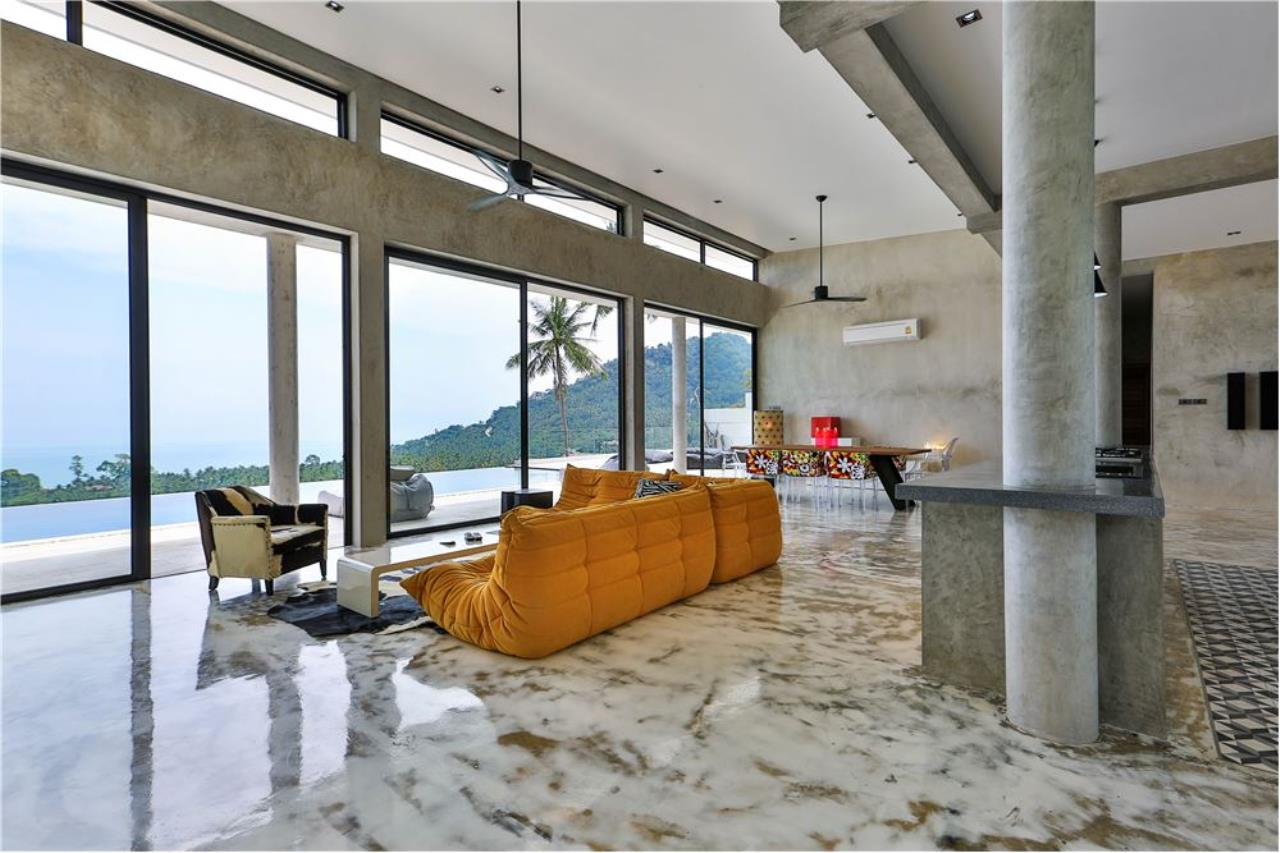 RE/MAX Island Real Estate Agency's 180° Sea view  villa for sale , Koh Samui 9