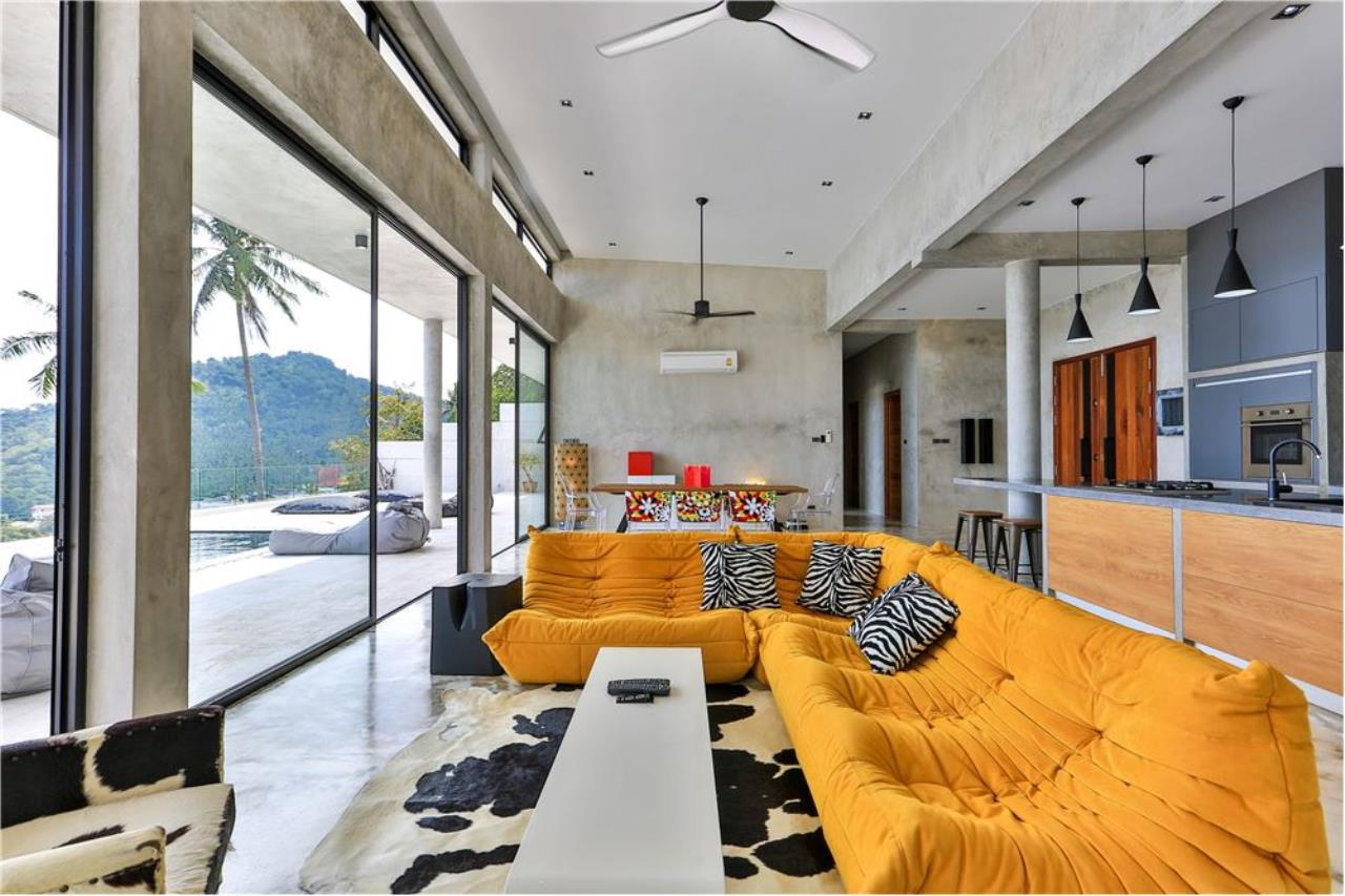 RE/MAX Island Real Estate Agency's 180° Sea view  villa for sale , Koh Samui 12
