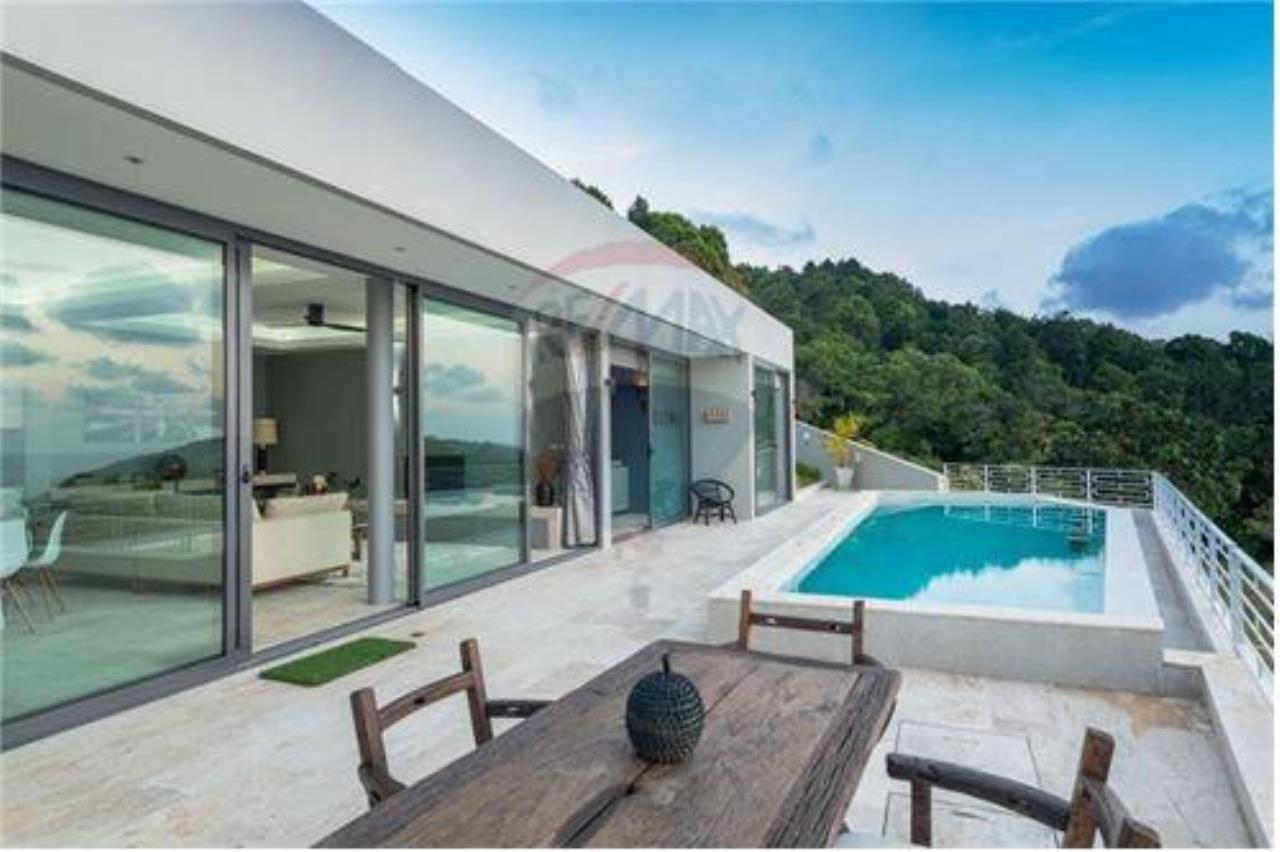 RE/MAX Island Real Estate Agency's Luxury sea view villa in Choengmon 3