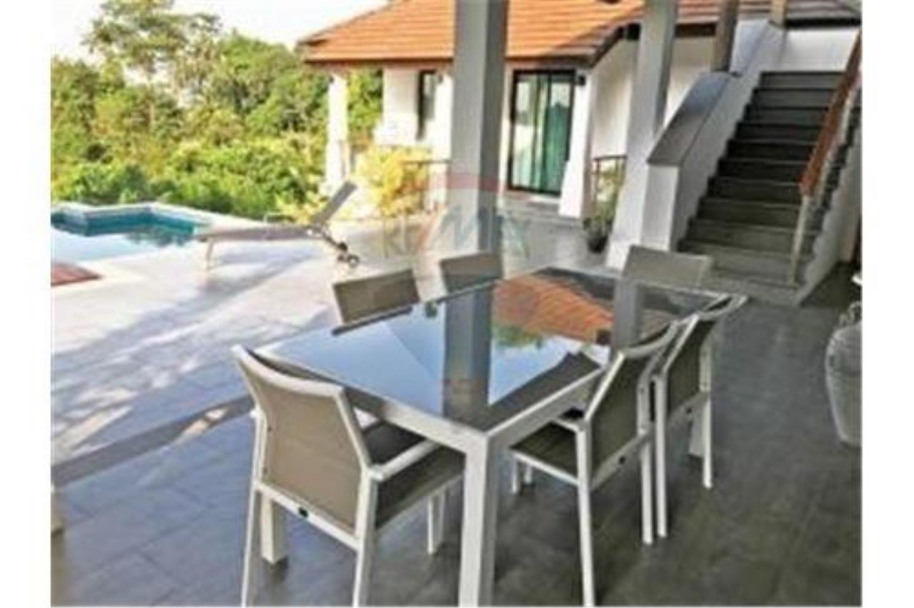 RE/MAX Island Real Estate Agency's 3 BEDROOM SEA VIEW POOL VILLA IN MAE NAM 3