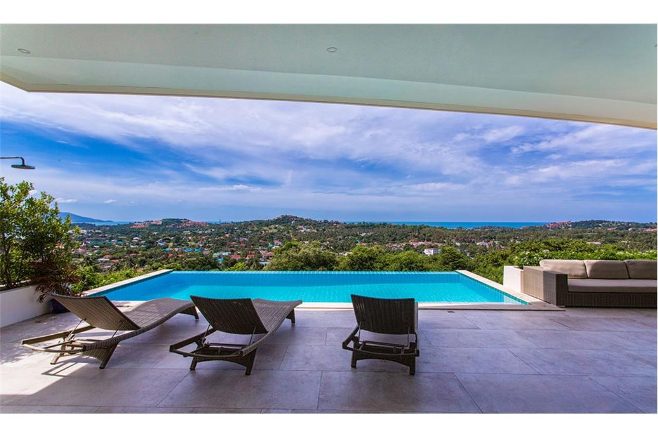 RE/MAX Island Real Estate Agency's Panoramic sea views 3 bedroom villa in Choeng Mon 1