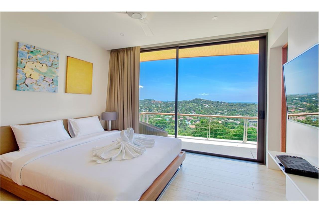 RE/MAX Island Real Estate Agency's Panoramic sea views 3 bedroom villa in Choeng Mon 10