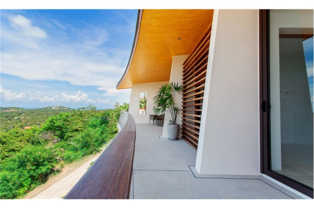 RE/MAX Island Real Estate Agency's Panoramic sea views 3 bedroom villa in Choeng Mon 12
