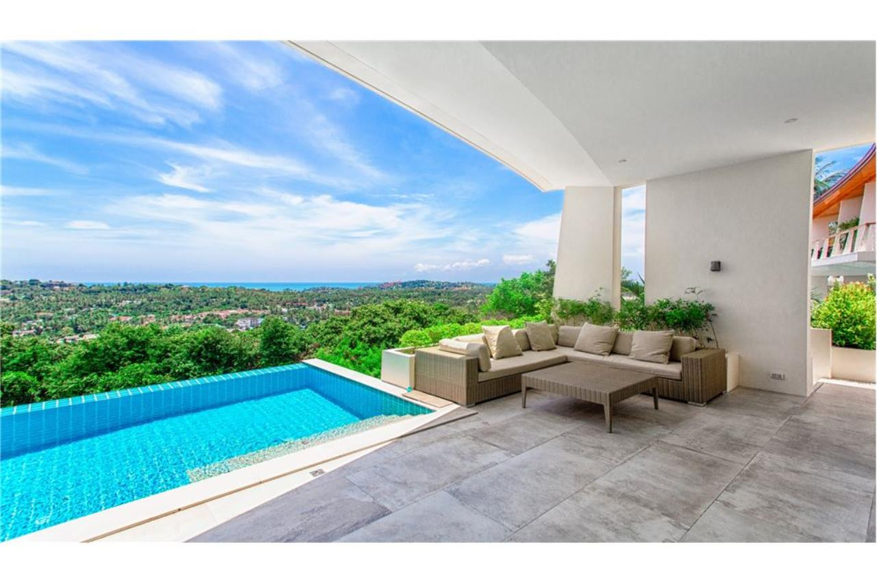 RE/MAX Island Real Estate Agency's Panoramic sea views 3 bedroom villa in Choeng Mon 16