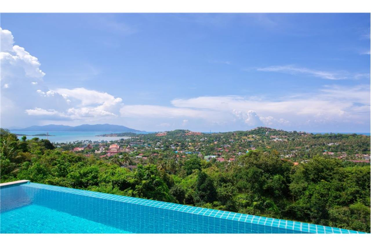 RE/MAX Island Real Estate Agency's Panoramic sea views 3 bedroom villa in Choeng Mon 2