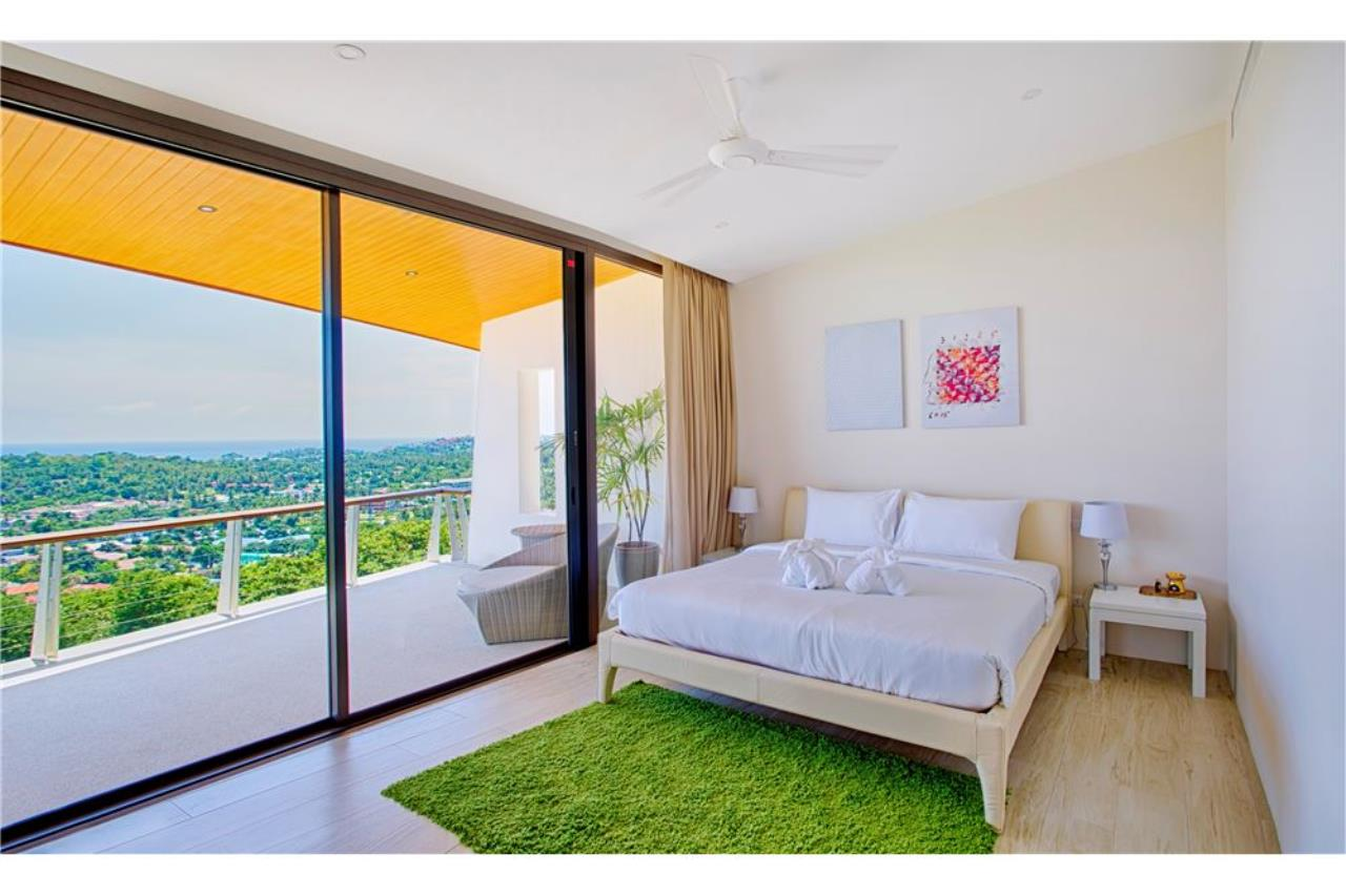 RE/MAX Island Real Estate Agency's Panoramic sea views 3 bedroom villa in Choeng Mon 9