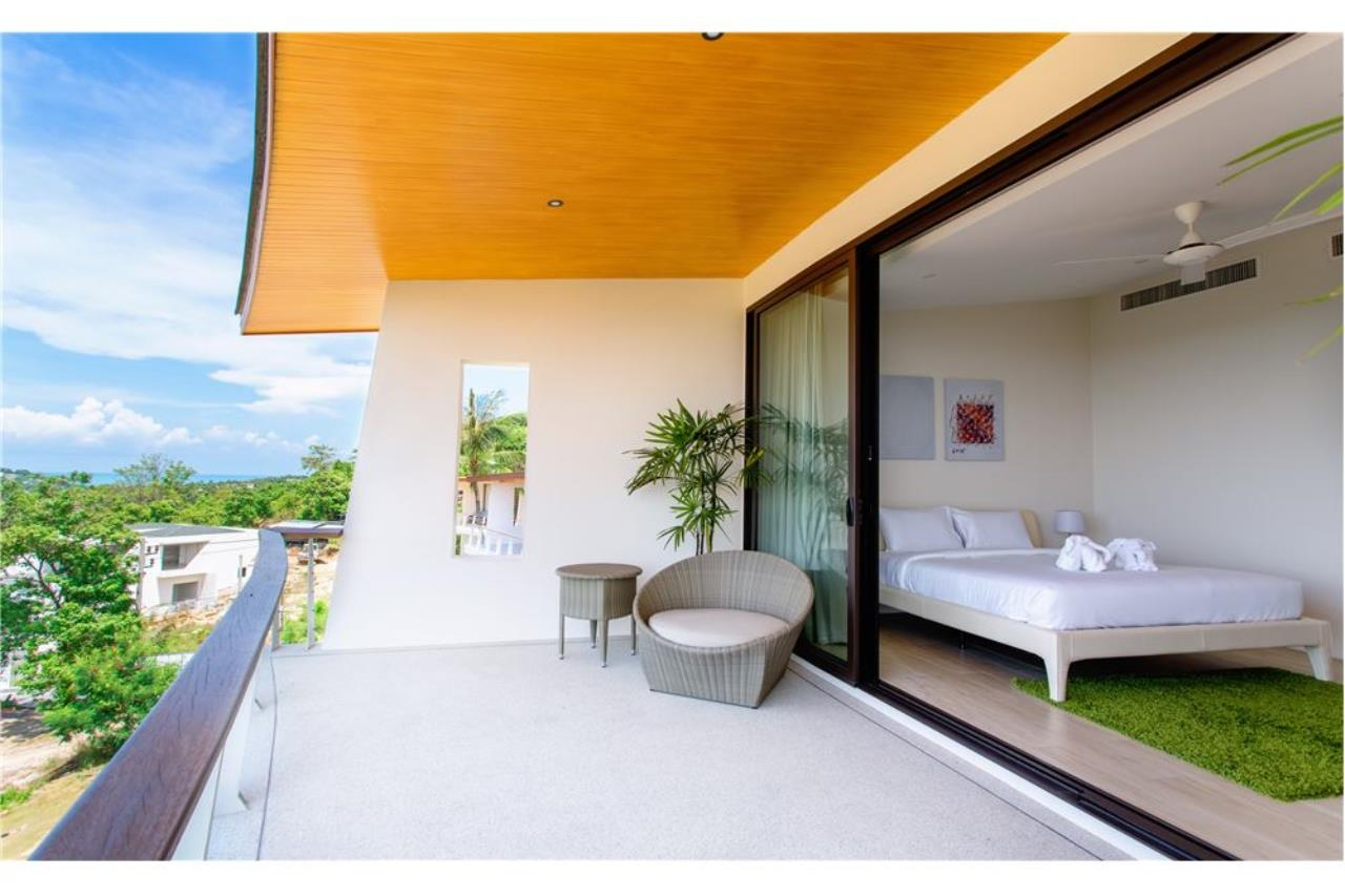 RE/MAX Island Real Estate Agency's Panoramic sea views 4 bedroom villa in Choeng Mon 9