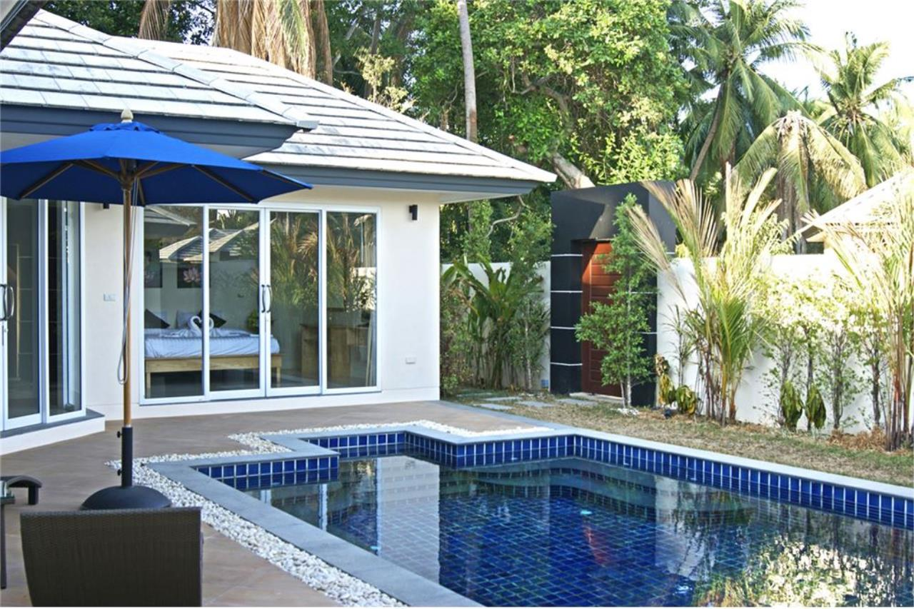 RE/MAX Island Real Estate Agency's New pool villa 2 bedroom in Lipa Noi 20