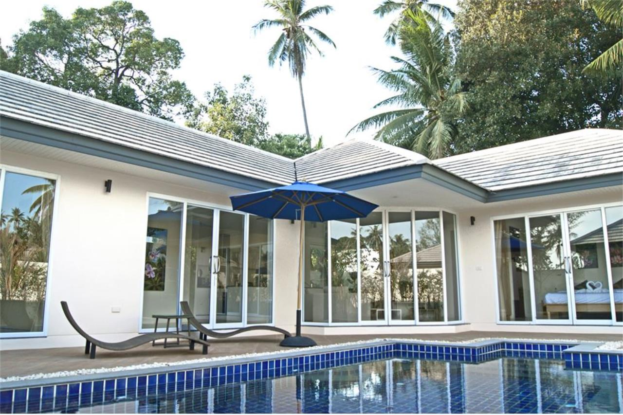 RE/MAX Island Real Estate Agency's New pool villa 2 bedroom in Lipa Noi 19