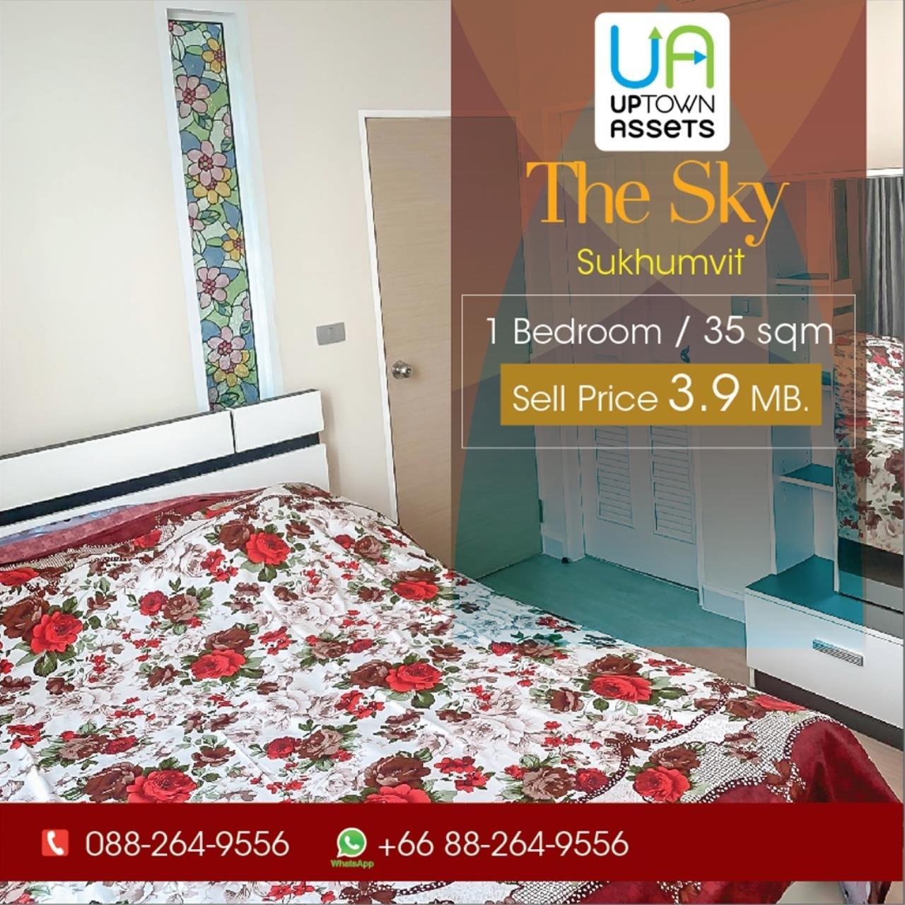 Uptown Assets  Agency's The Sky Sukhumvit  Unit 4107/157 9