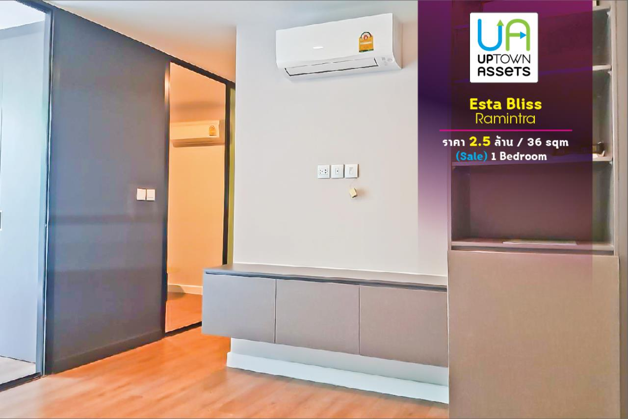 Uptown Assets  Agency's FOR Sales Esta Bliss Ramintra Unit 126/49  1