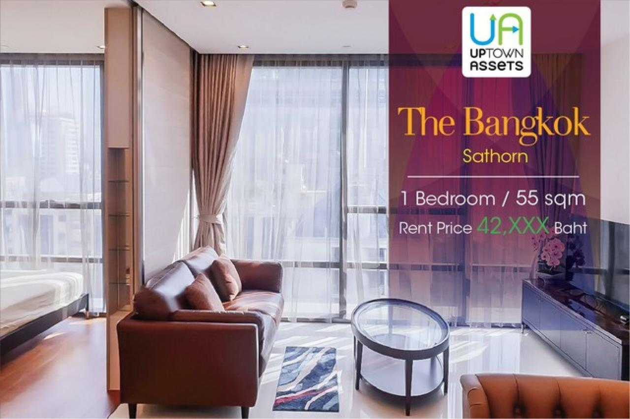 Uptown Assets  Agency's FOR Rent The Bangkok Sathorn Unit 111 1