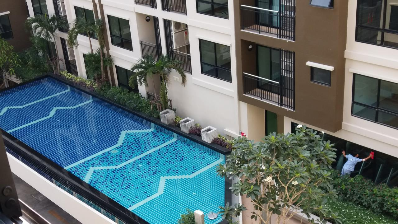 Agent - Ratana Chatthinawat  Agency's Condominium near BTS Baering for rent 1 bedroom 12,000/month 10