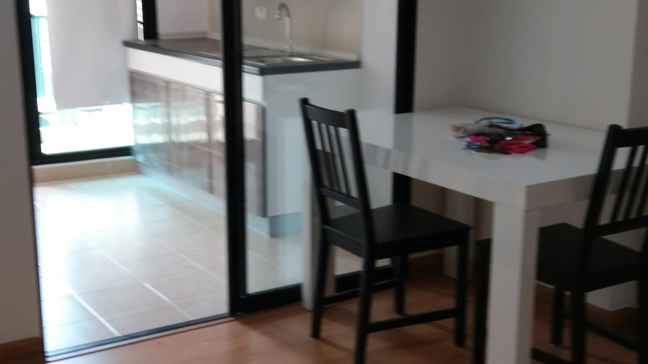 Agent - Ratana Chatthinawat  Agency's Condominium near BTS Baering for rent 1 bedroom 12,000/month 9