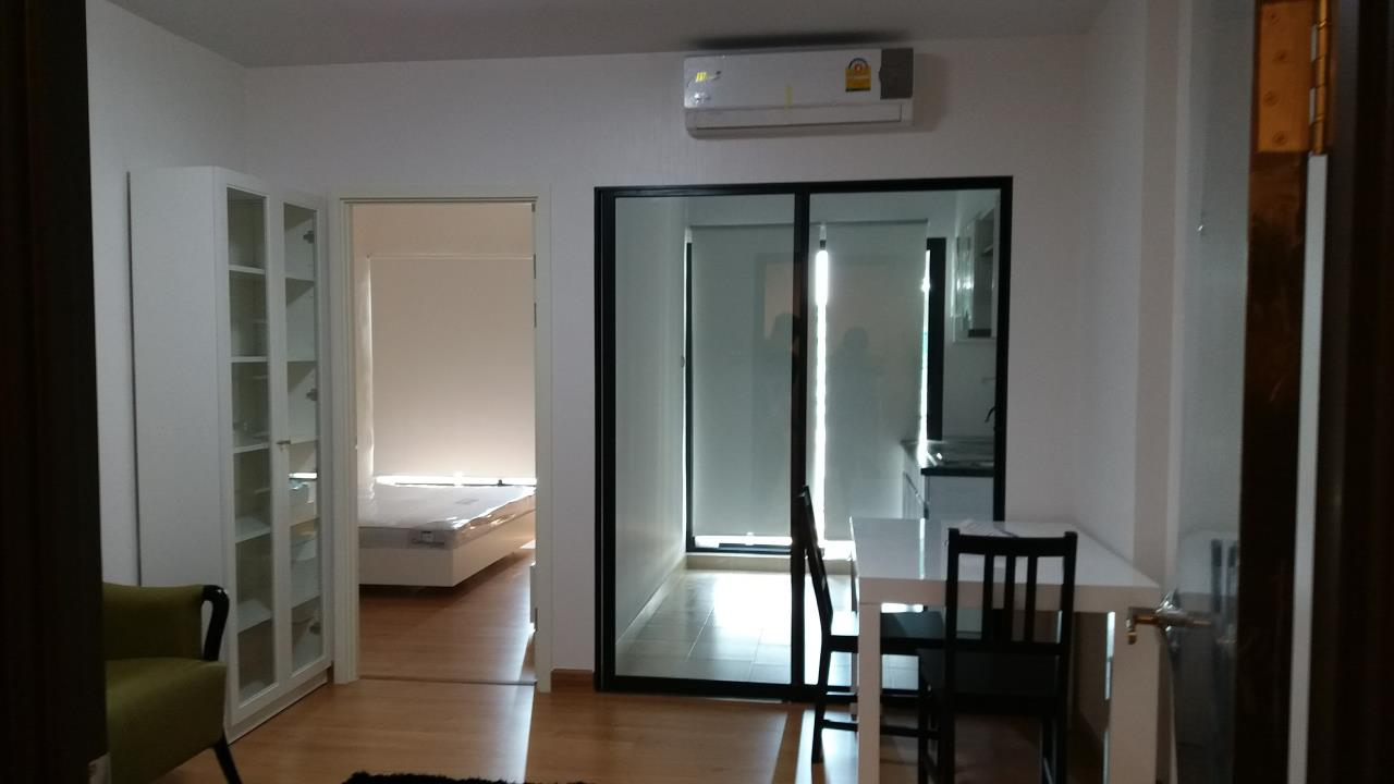 Agent - Ratana Chatthinawat  Agency's Condominium near BTS Baering for rent 1 bedroom 12,000/month 1