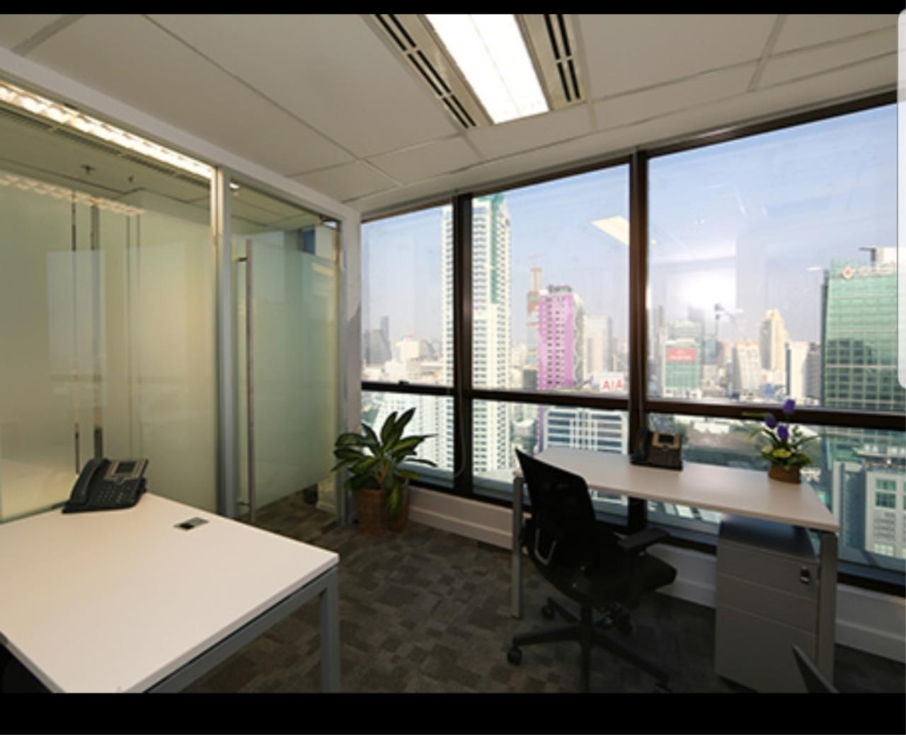 Agent - Ratana Chatthinawat  Agency's Serviced office in Sathorn area fully Serviced office Sathorn area furnished ready for movein for rent from 15,000/m. 2