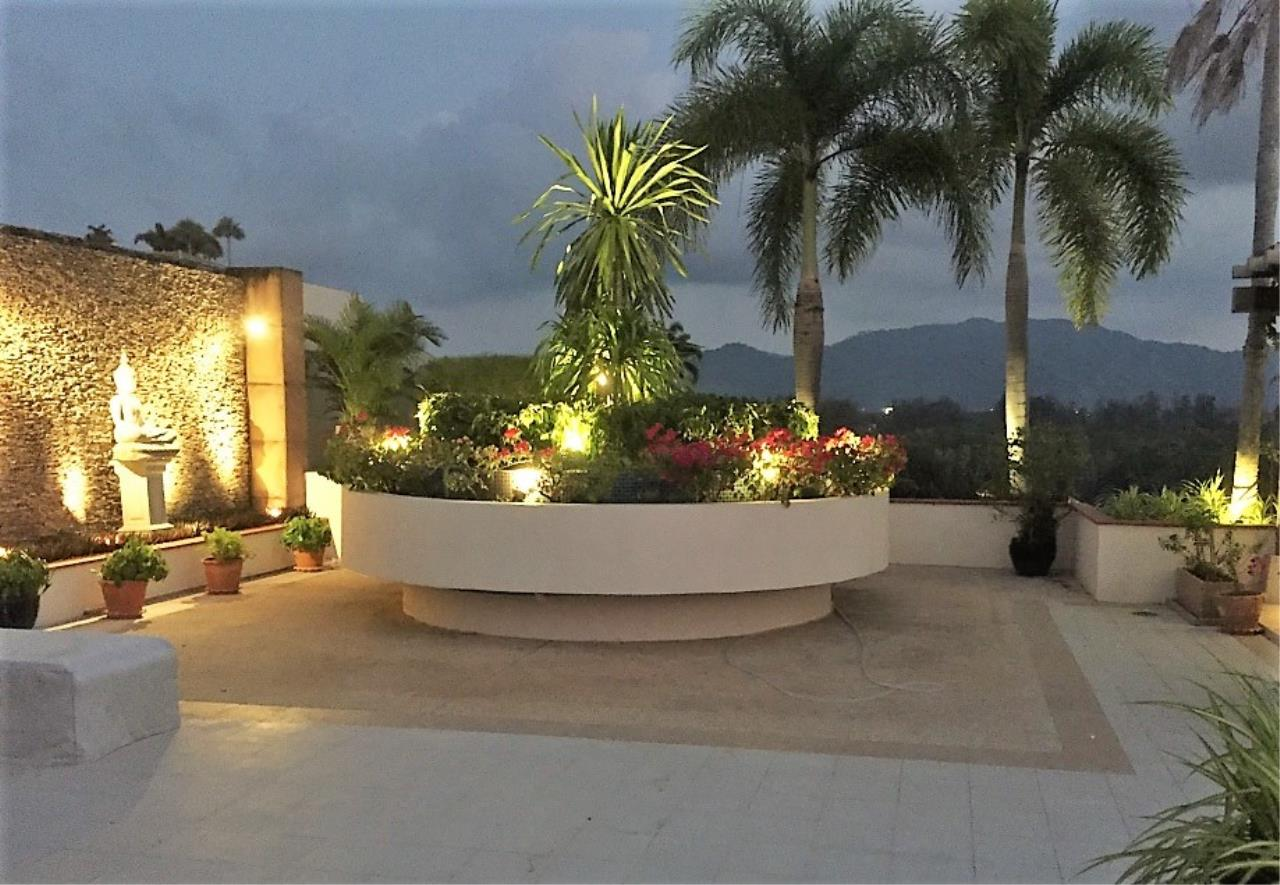 REAL Phuket  Agency's Layan Gardens - Superb 3-Bedroom Penthouse with Roof Top Terrace for Long-term Rent 21