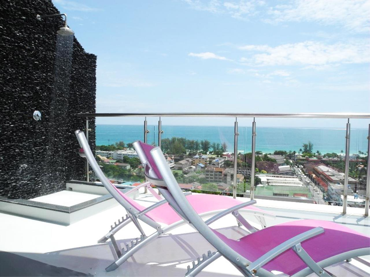 REAL Phuket  Agency's Sunset Plaza - Superb 4-Bedroom Sea View Penthouse in Karon 5