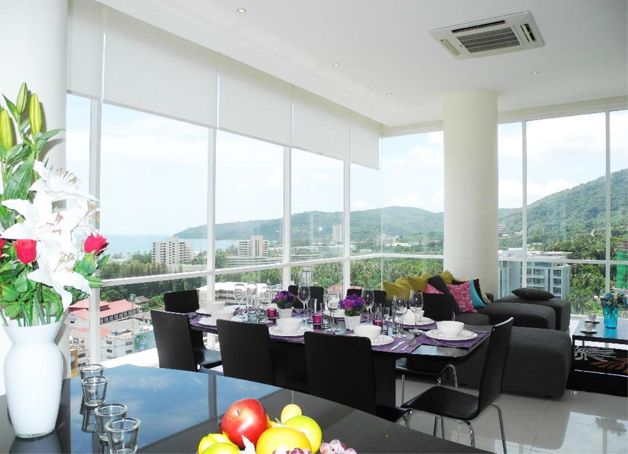 REAL Phuket  Agency's Sunset Plaza - Superb 4-Bedroom Sea View Penthouse in Karon 6