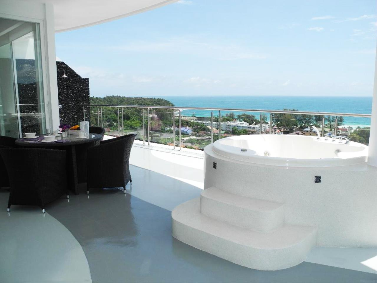 REAL Phuket  Agency's Sunset Plaza - Superb 4-Bedroom Sea View Penthouse in Karon 7