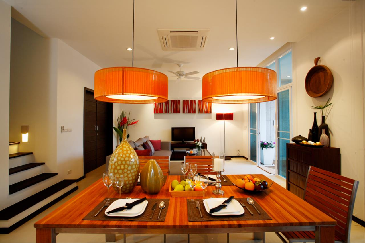 REAL Phuket  Agency's Modern 4-Bedroom Duplex Condominium with Private Pool near Bang Tao Beach 4