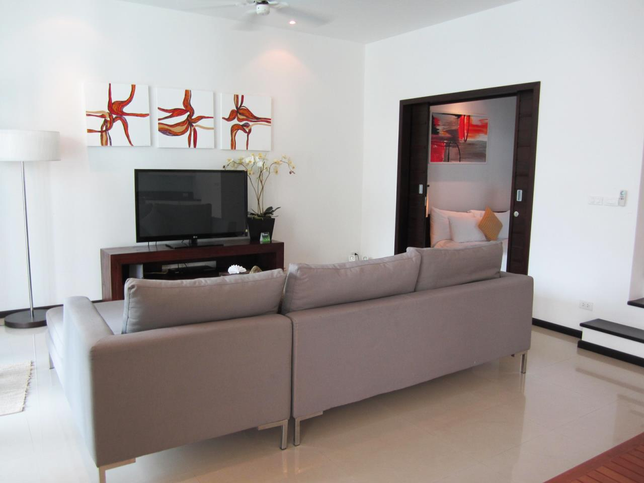 REAL Phuket  Agency's Modern 4-Bedroom Duplex Condominium with Private Pool near Bang Tao Beach 8