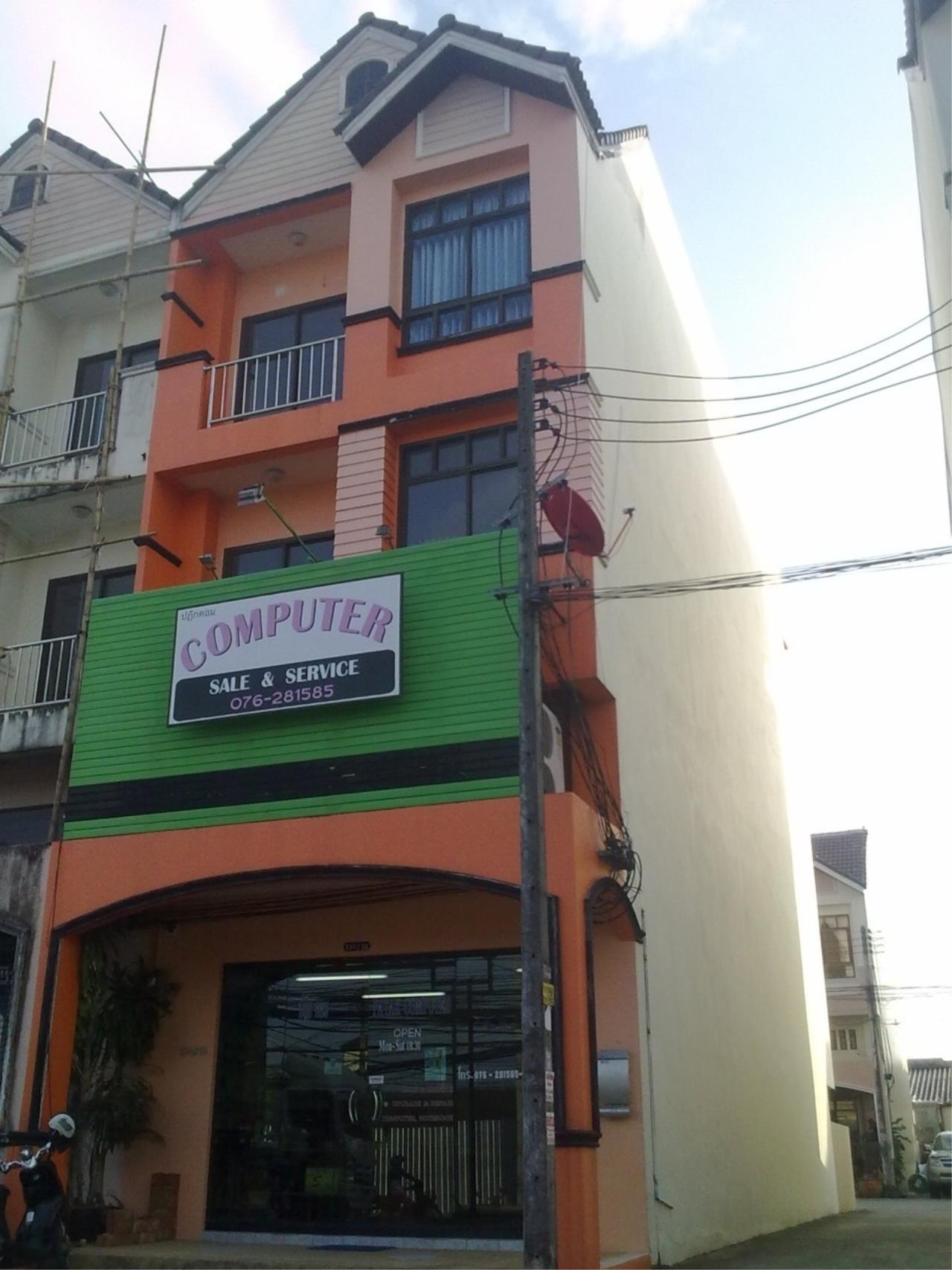 REAL Phuket  Agency's 4-Storey Shop House on Patak Road Kata 9