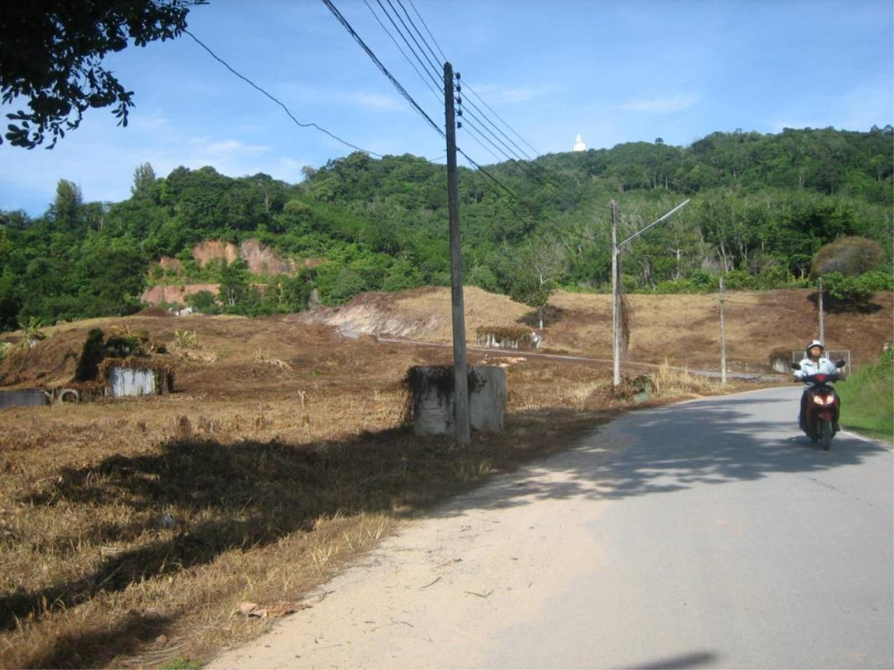 REAL Phuket  Agency's Chalong Hillside Land Plot of 14.6 Rai on Big Buddha Mountain 2