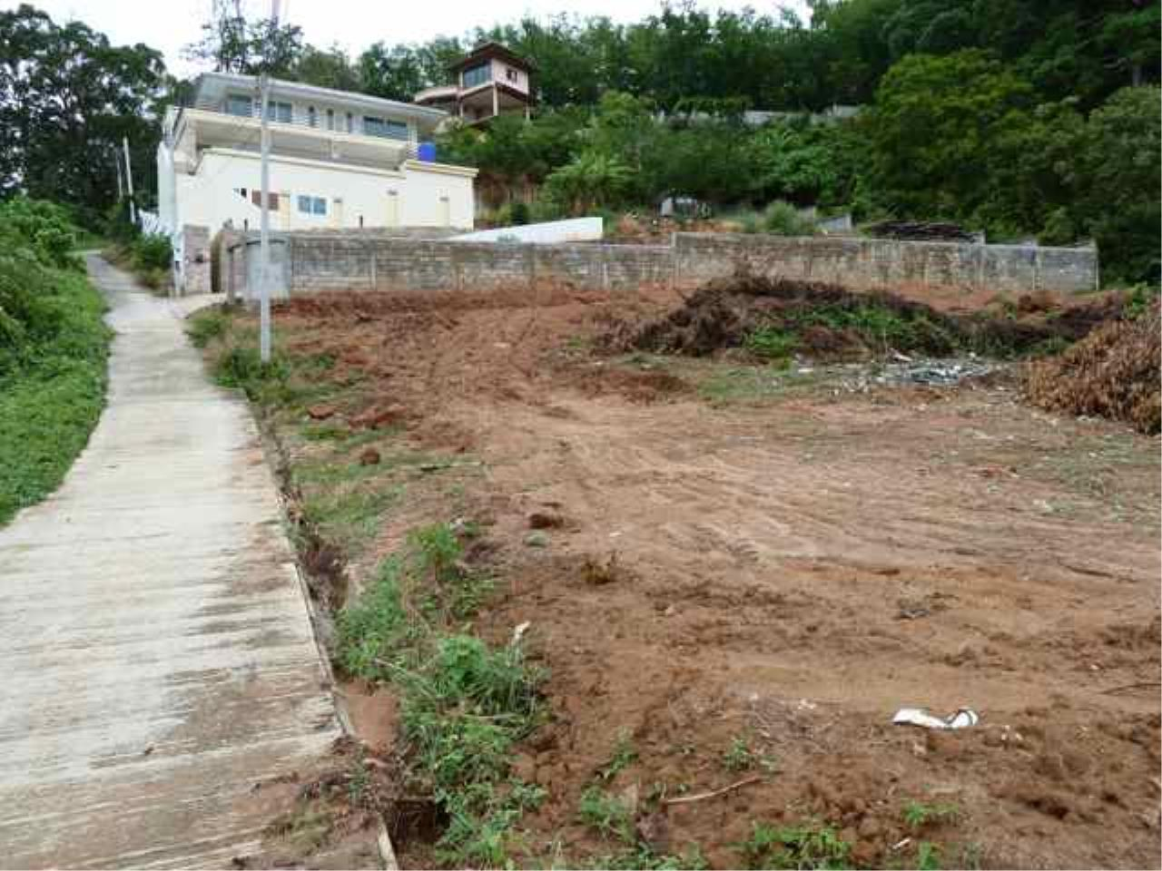 REAL Phuket  Agency's Nai Harn - Hillside Land Plot of 1 Rai - ideal for Villa Project 1