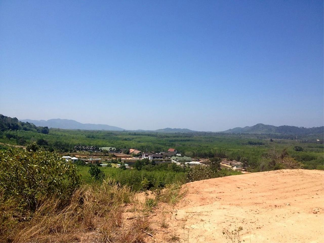 REAL Phuket  Agency's 6 Rai of Seaview Land near Mission Hills Golf Course - only THB 3.5m per Rai 7