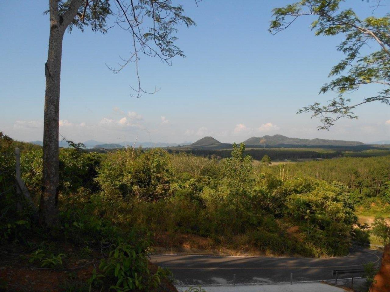 REAL Phuket  Agency's Phuket East - 1 Rai of Hillside Land with Panoramic Sea Views 2