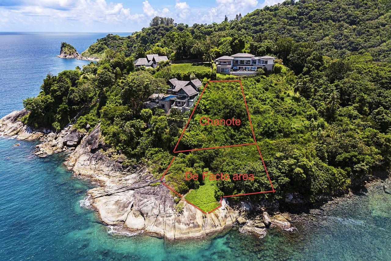 REAL Phuket  Agency's Pristine Oceanfront Land Plot of 1.2 Rai 1