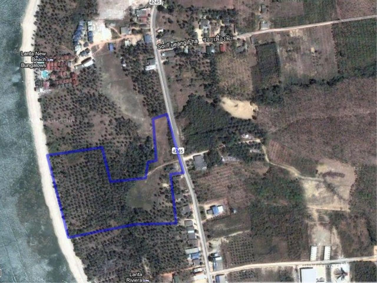 REAL Phuket  Agency's Koh Lanta - 23 Rai Beachfront Land with 210 meter Beach Frontage 8
