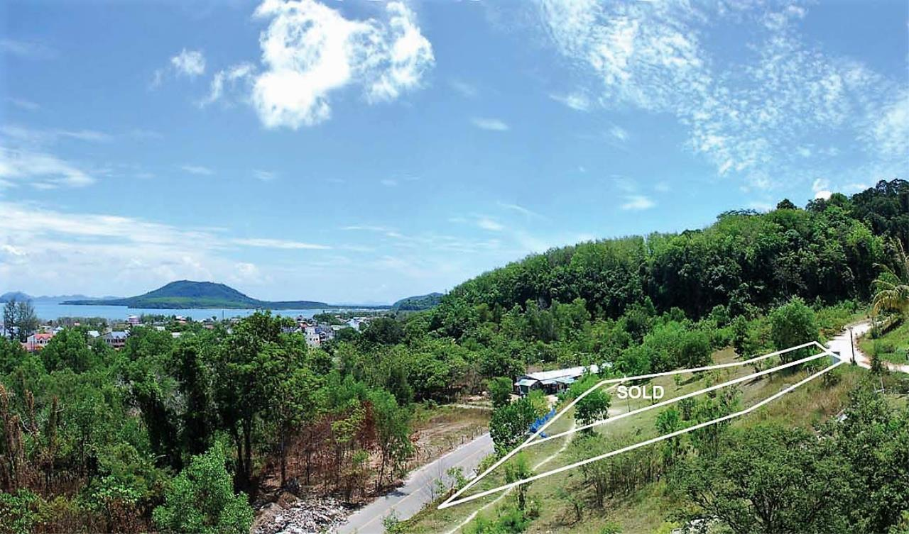 REAL Phuket  Agency's Panoramic Sea View Land near Bypass Road 1