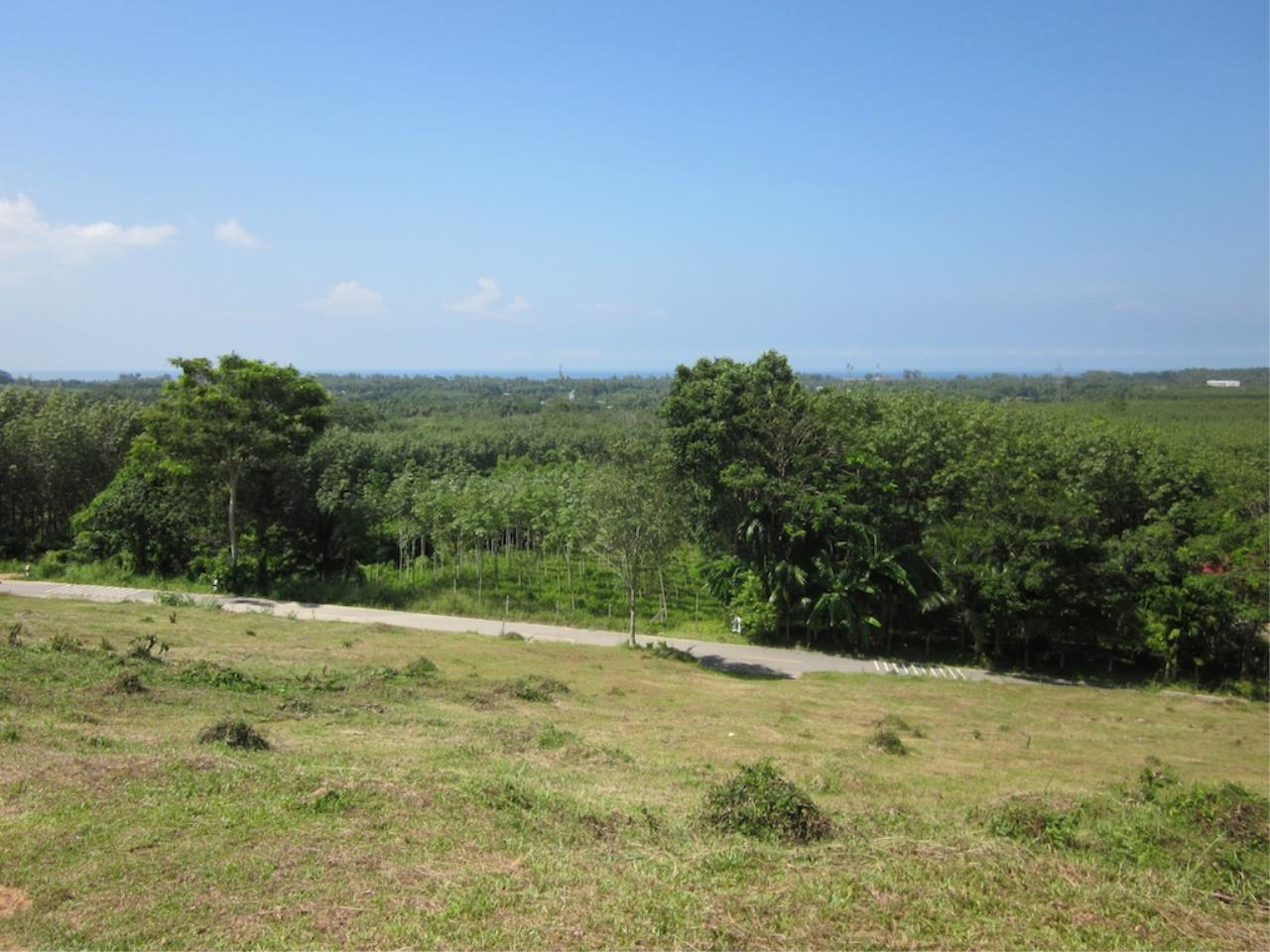 REAL Phuket  Agency's Mai Khao 6+ Rai of Land with Distant Sea Views 3