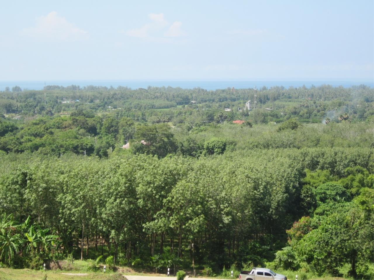 REAL Phuket  Agency's Mai Khao 6+ Rai of Land with Distant Sea Views 6