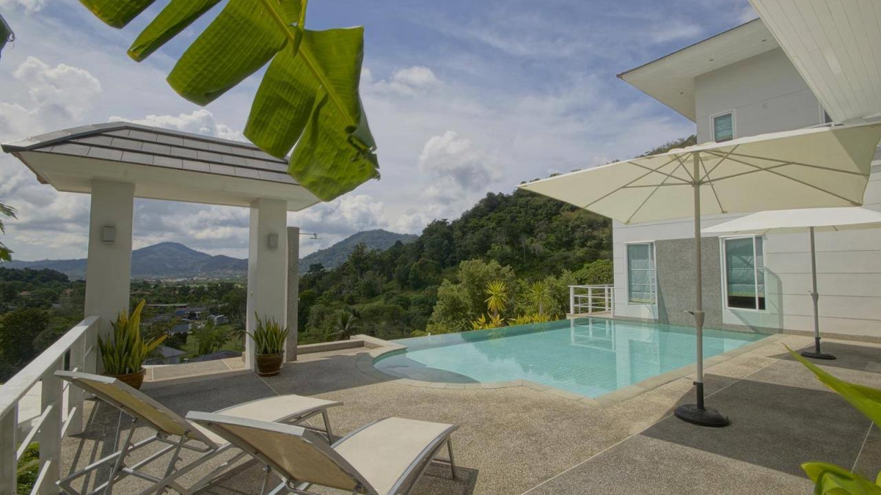 REAL Phuket  Agency's Botan Golf View - Modern 4-Bedroom Villa near Loch Palm Golf Course 9