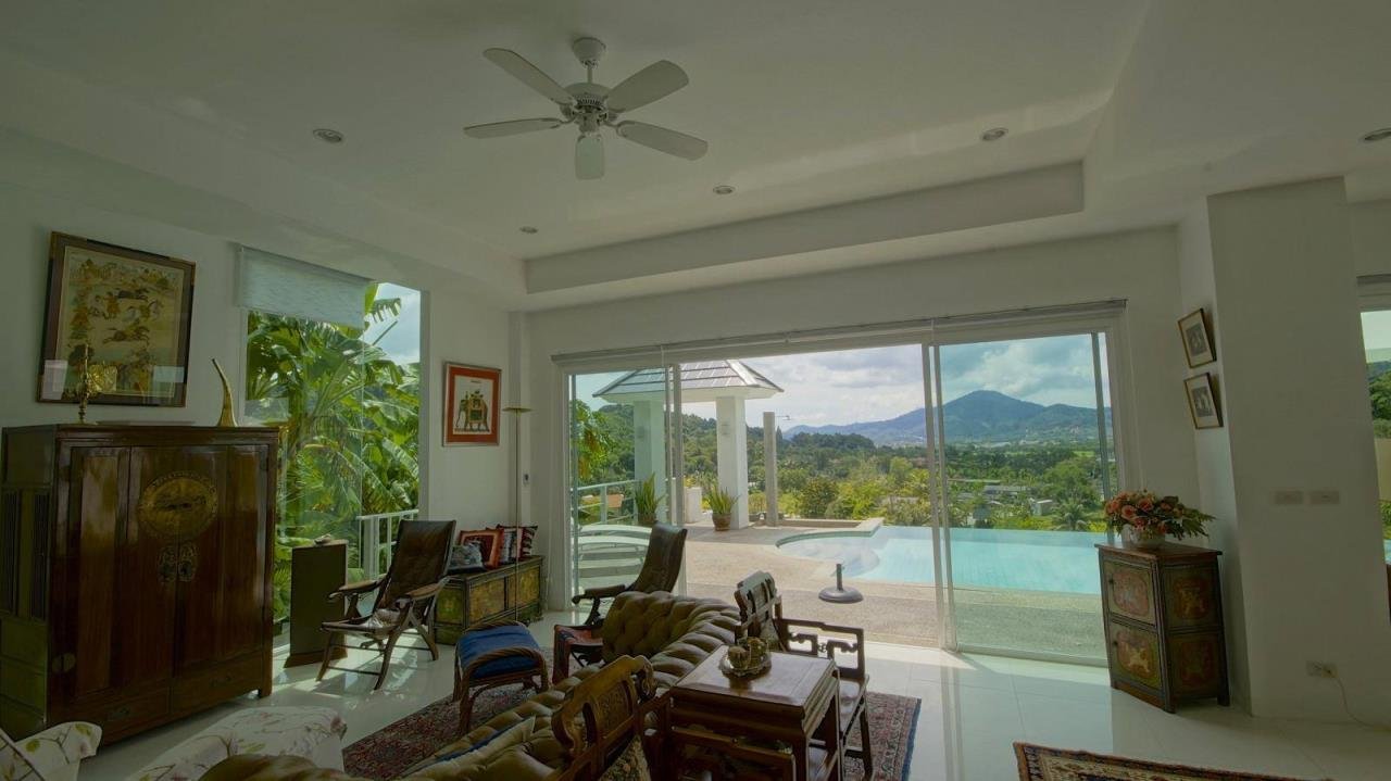REAL Phuket  Agency's Botan Golf View - Modern 4-Bedroom Villa near Loch Palm Golf Course 14