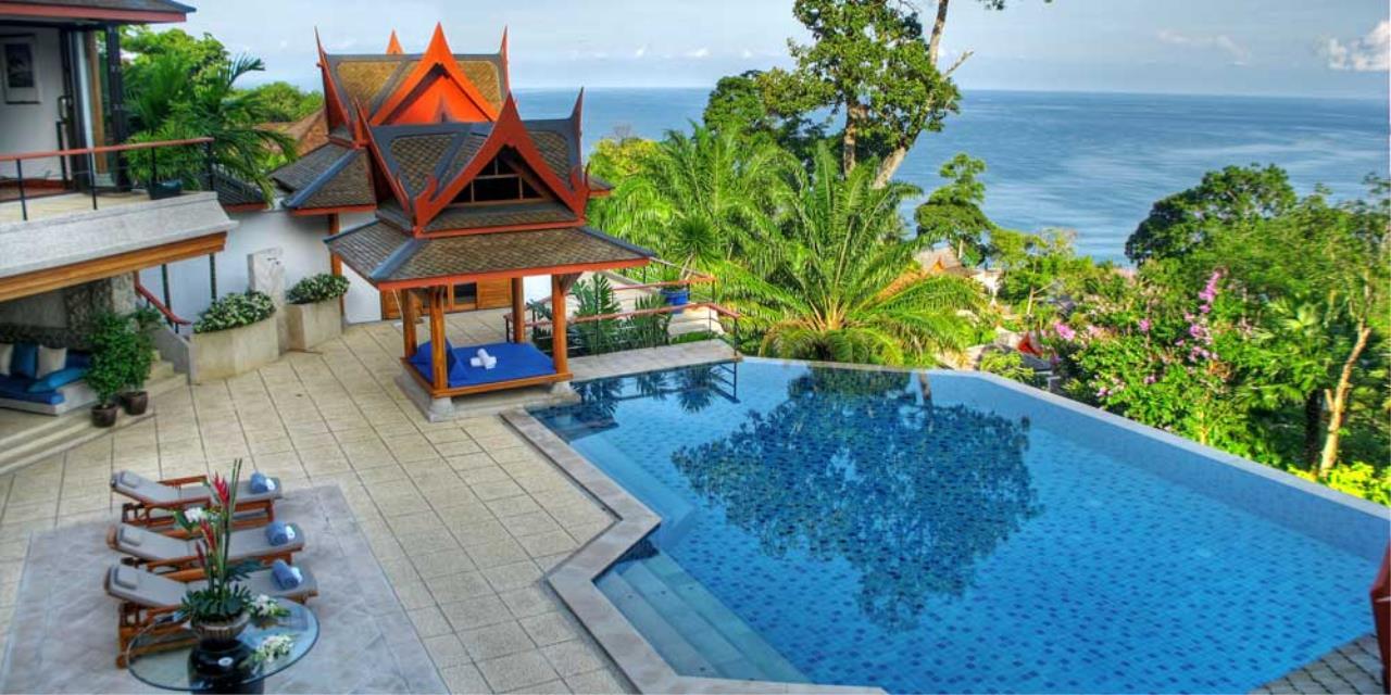 REAL Phuket  Agency's Rak Tawan - Awesome 6-Bedroom Ocean View Villa on Surin Hill 11