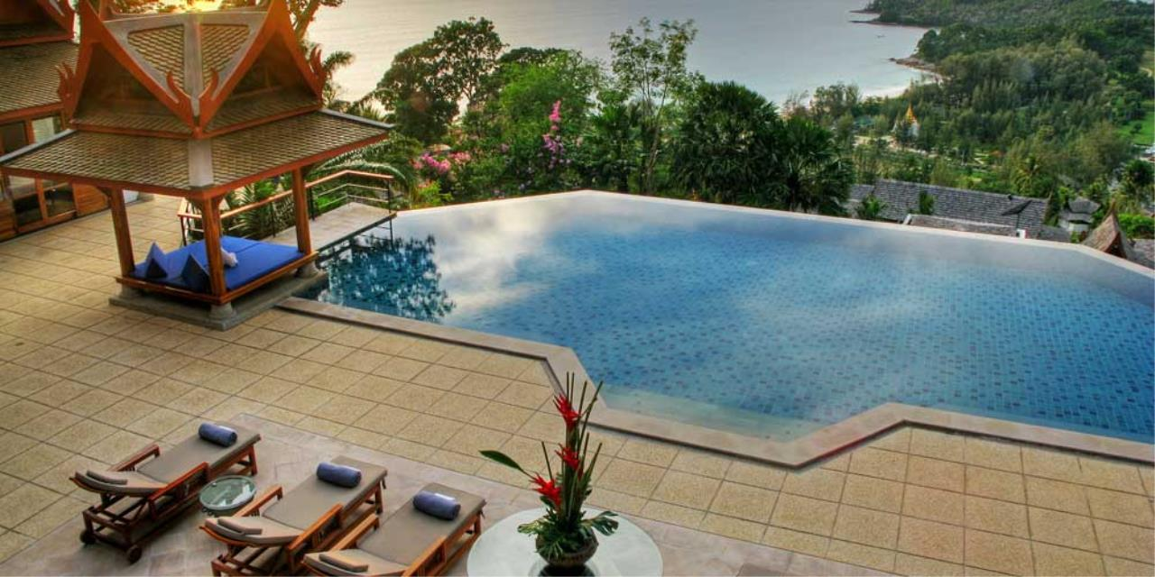 REAL Phuket  Agency's Rak Tawan - Awesome 6-Bedroom Ocean View Villa on Surin Hill 13