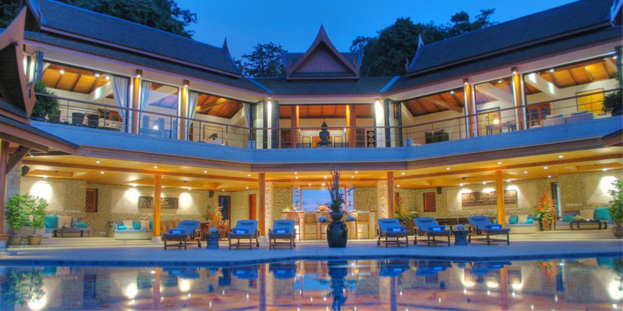 REAL Phuket  Agency's Rak Tawan - Awesome 6-Bedroom Ocean View Villa on Surin Hill 19